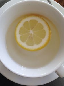 Hot Water & Lemon