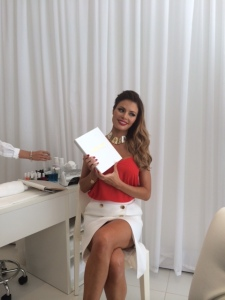 Chloe Sims at the launch of her Beauty Bar - CHLOE