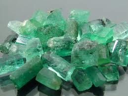 Emeralds  May's birth stone Emeralds symbolise hope and the future, renewal and growth