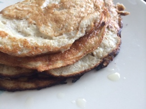 Clean Banana Breakfast Pancakes Recipe under Delicious Healthy Recipes