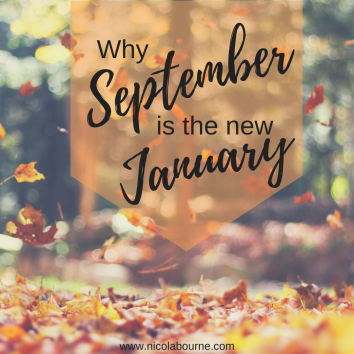 Why September is the new January graphic