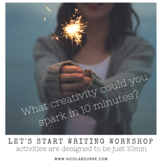 What could you spark in 10 minutes copy